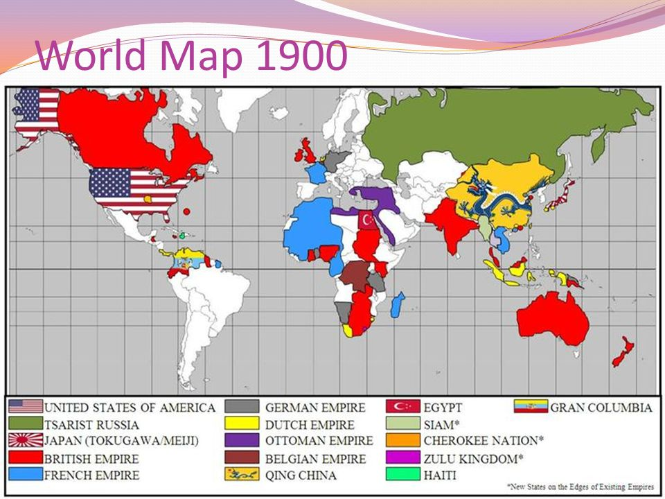 Ap world history period 4 ppt video online download 9 world map 1900 gumiabroncs Images
