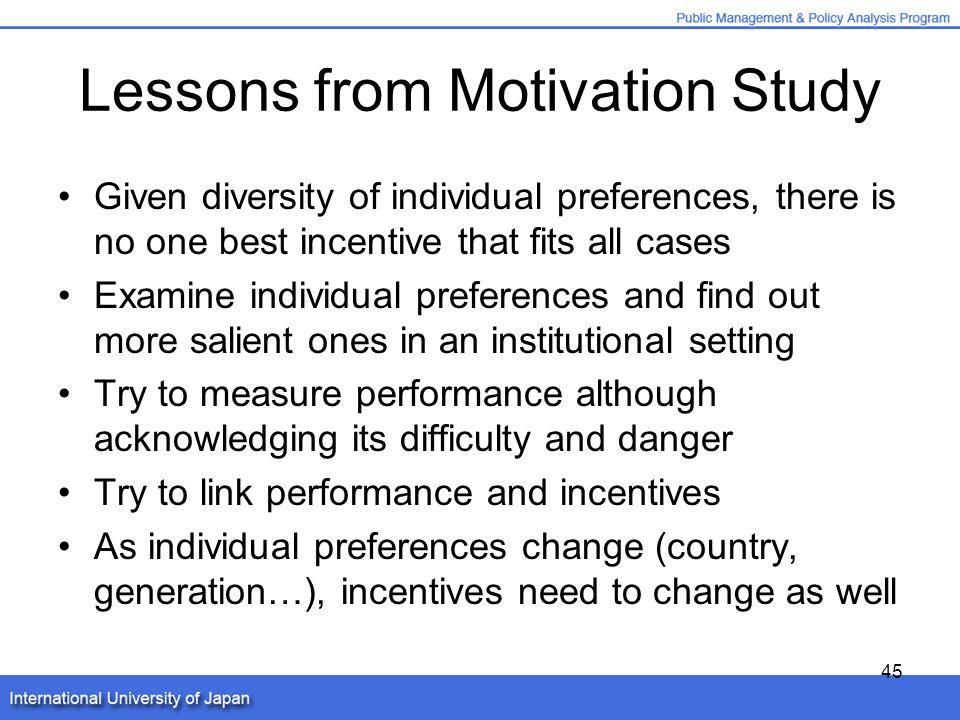 case study motivation reward system expectancy theory goal setting