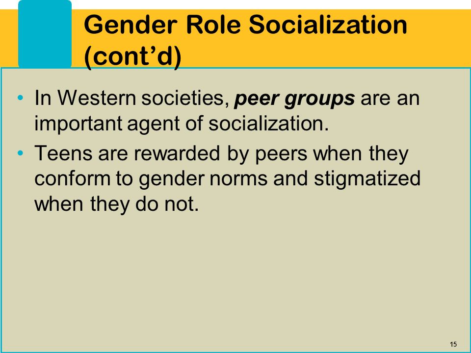 Gender roles inherent or socialized