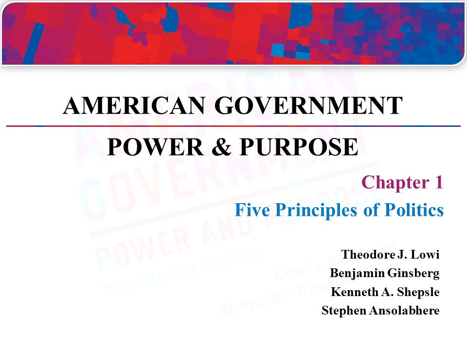 The Principles of American Democracy