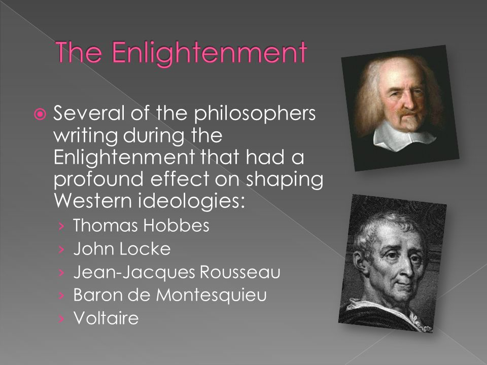 comparing and contrasting philosophers of the enlightenment locke and rousseau Between john locke's and rousseau's philosophies' and find homework help for other philosophy questions at enotes compare and contrast enlightenment.