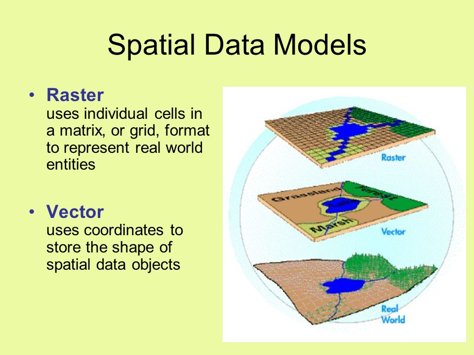 gis basics spatial data structure and module Basics synthesising reality what is a gis a geographic information system (gis) has been defined  data structure - a representation of the data model, expressed using arrays and programming structures that  introduction to spatial data types.