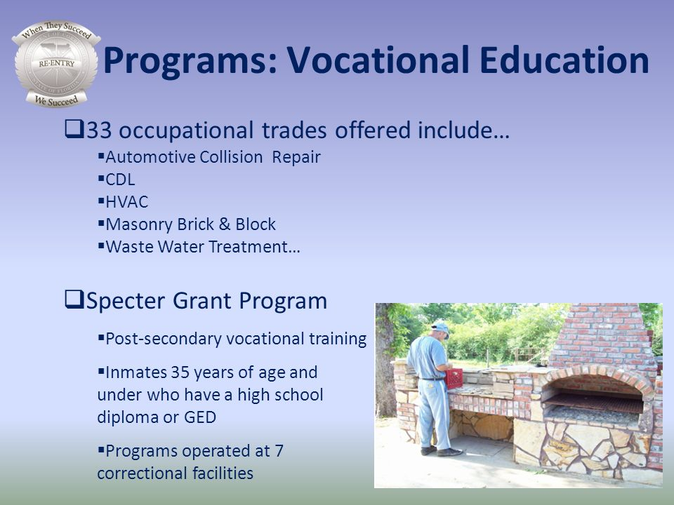 Programs: Vocational Education