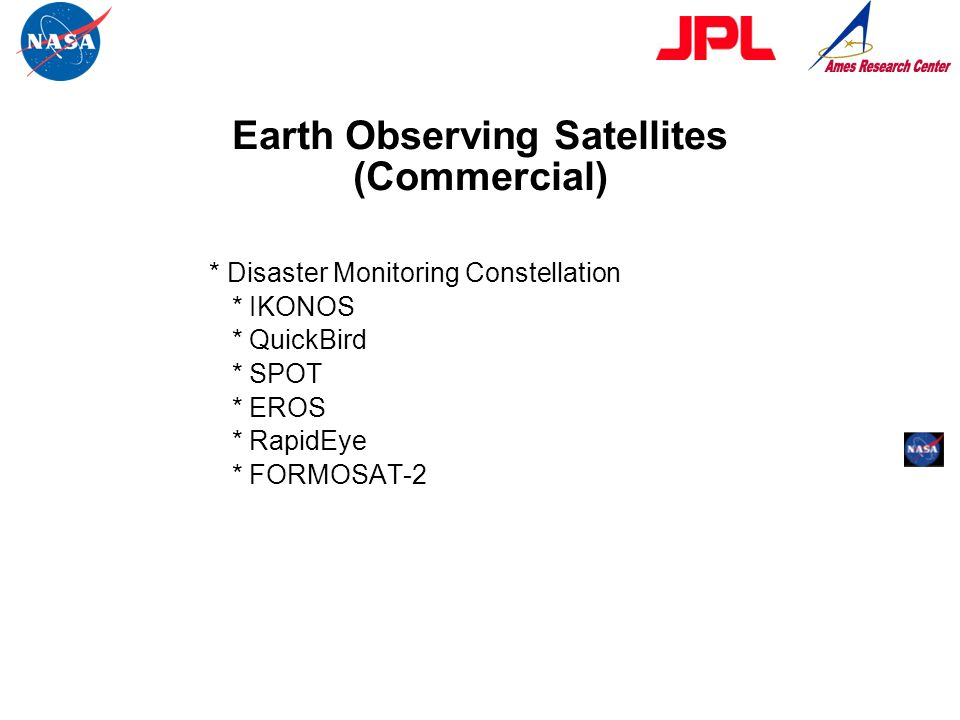 Earth Observing Satellites (Commercial)