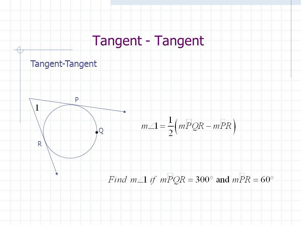 Tangent - Tangent Tangent-Tangent P Q R