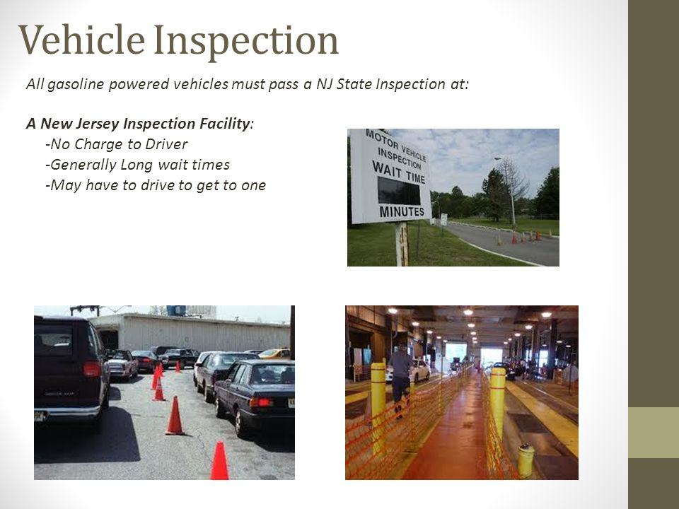 Motor vehicle oakland nj for Motor vehicle inspection nj