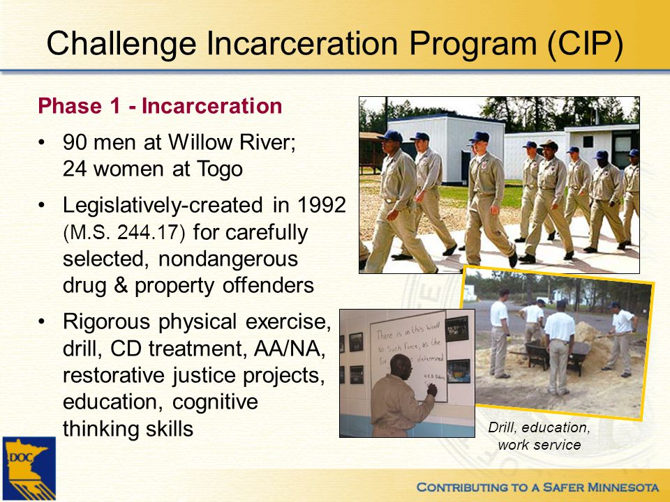 Challenge Incarceration Program (CIP)