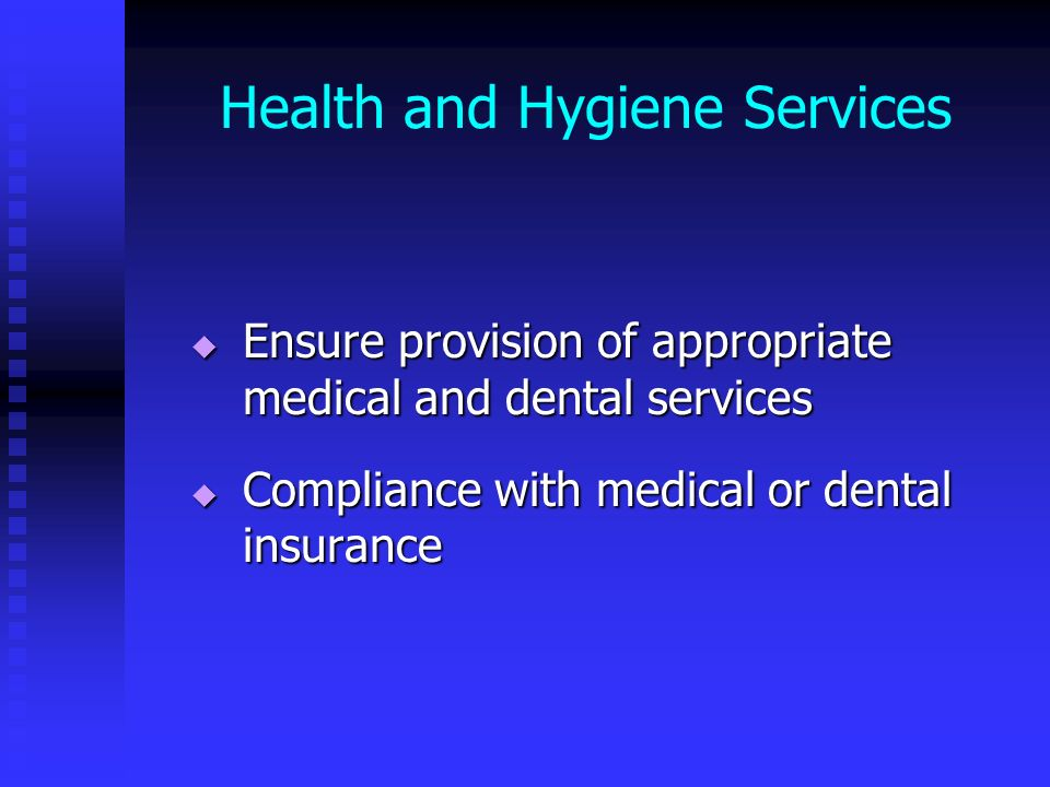 Health and Hygiene Services
