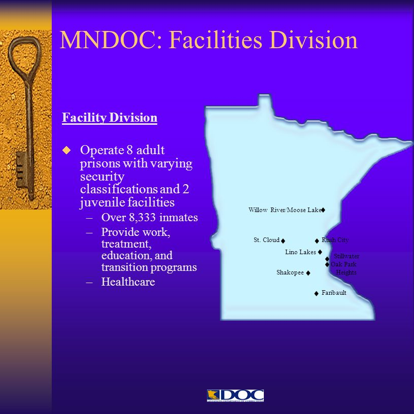 MNDOC: Facilities Division