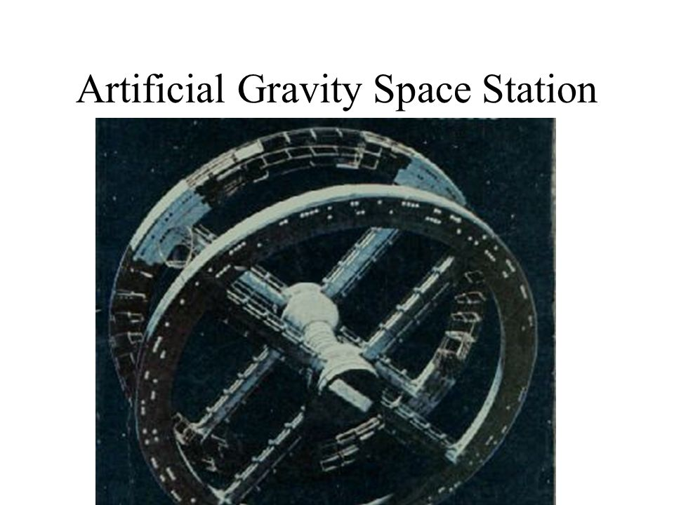 Artificial Gravity Space Station