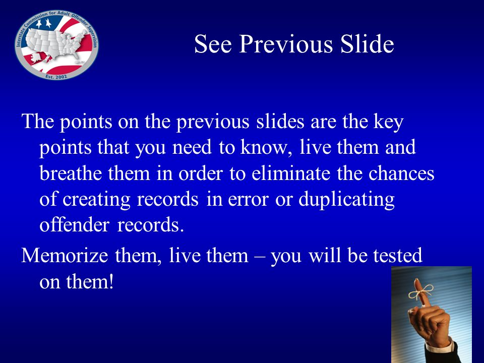 See Previous Slide