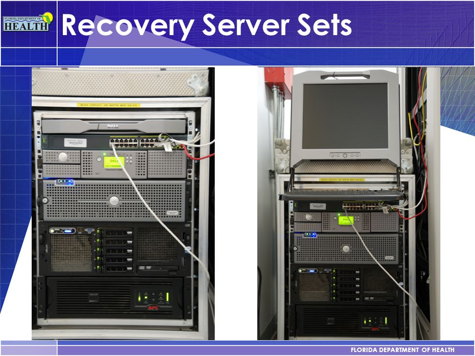 Recovery Server Sets