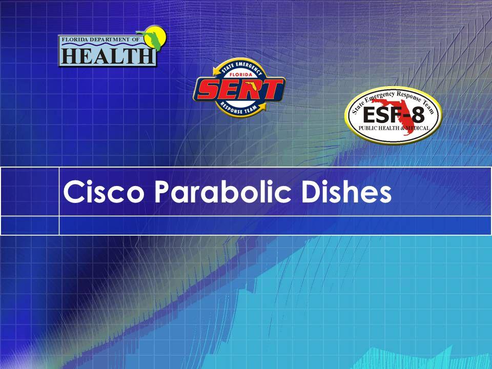 Cisco Parabolic Dishes