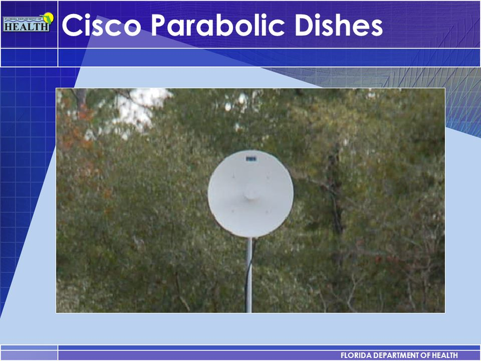 Cisco Parabolic Dishes