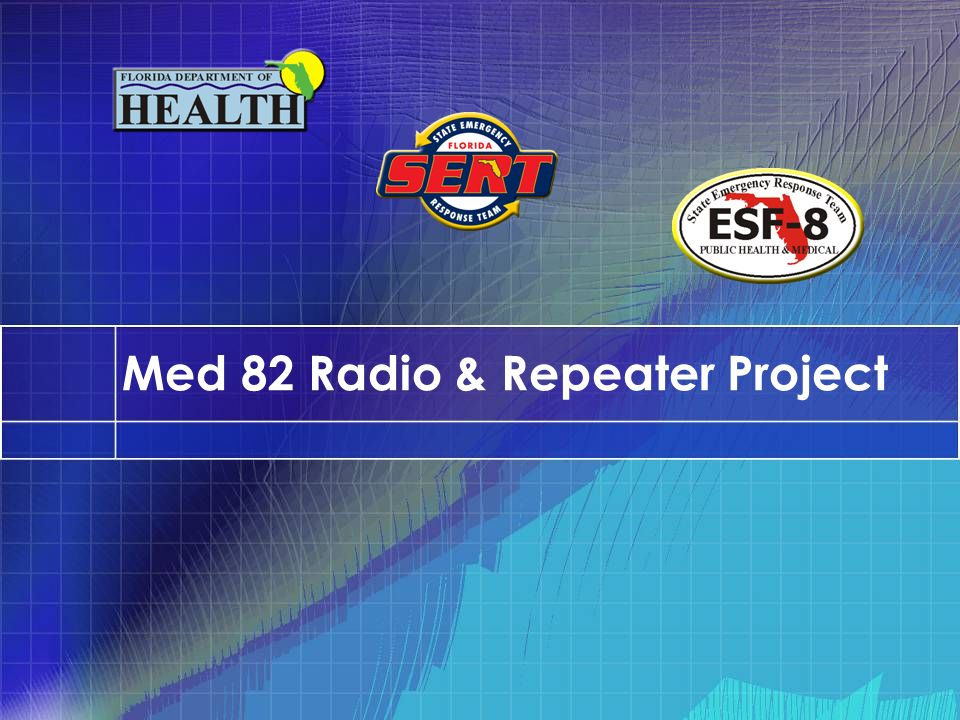 Med 82 Radio & Repeater Project