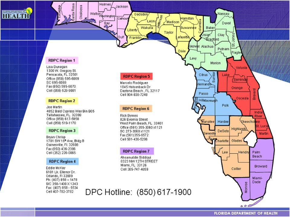 DPC Hotline: (850) 617-1900