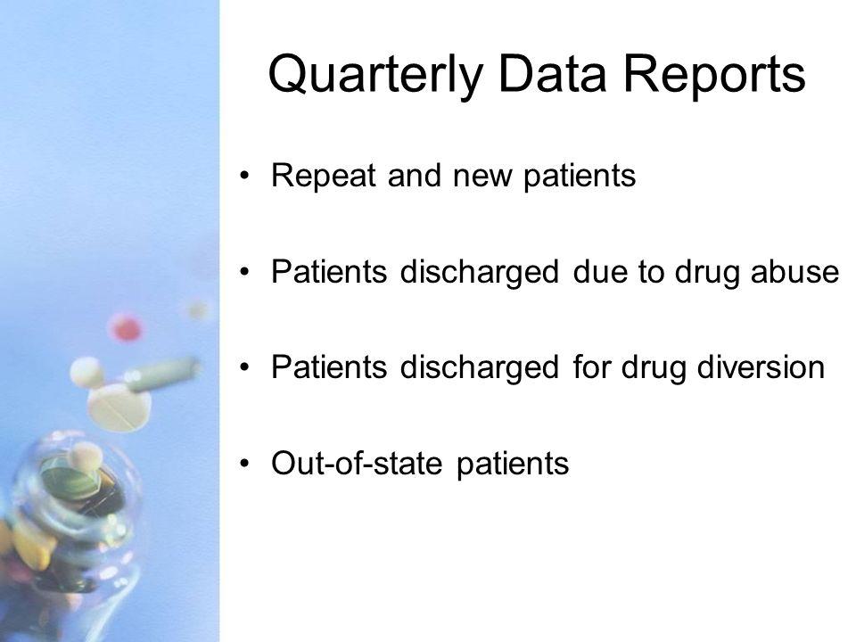 Quarterly Data Reports