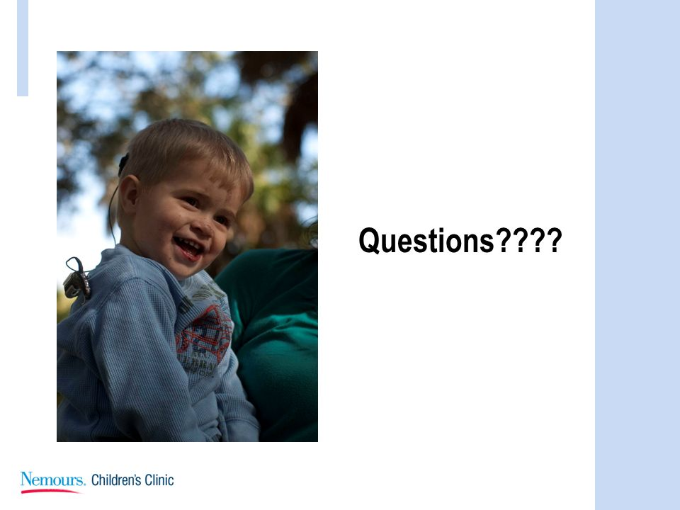 Questions Questions Visit us at Nemours.org