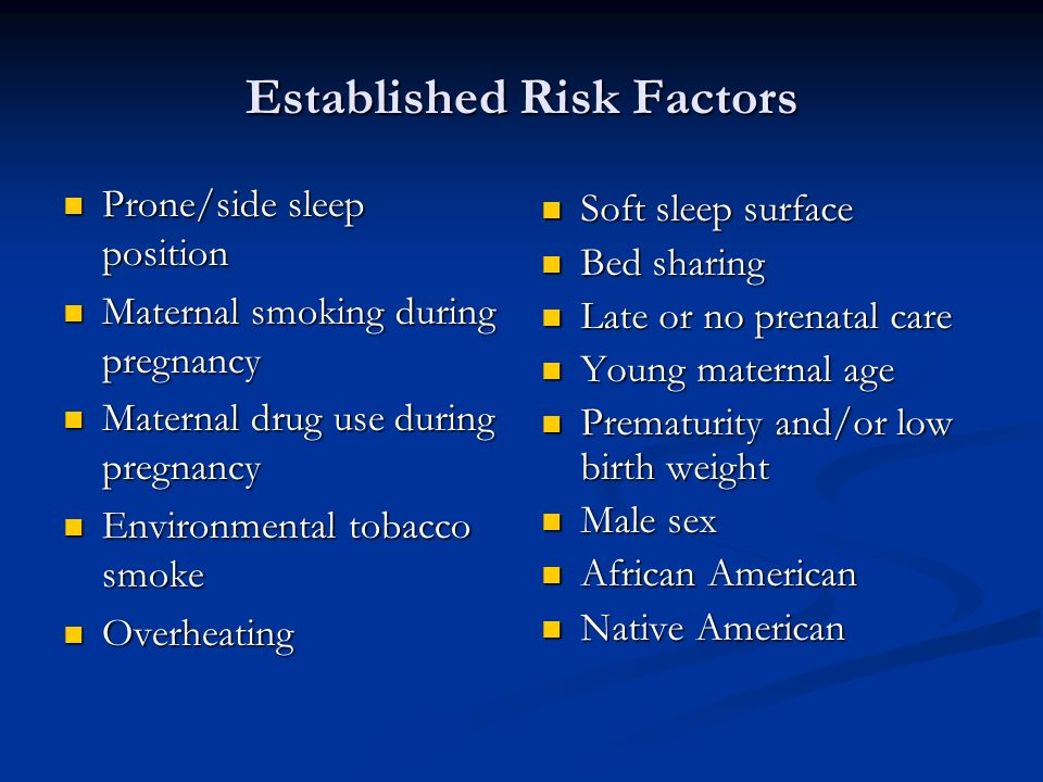 Established Risk Factors