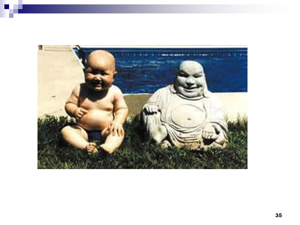Facilitator Note: (briefly show this slide; should see picture of Buddha and baby)