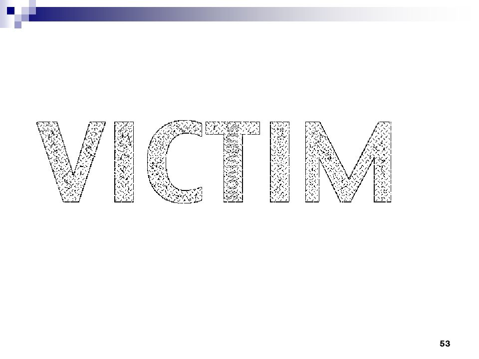 Facilitator Note: Ask: Ask participants if they can find the survivor in the victim in above picture: