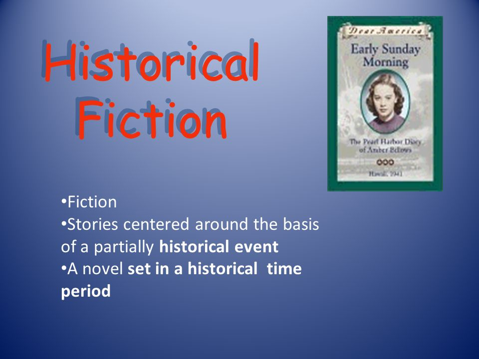 Historical Fiction Fiction