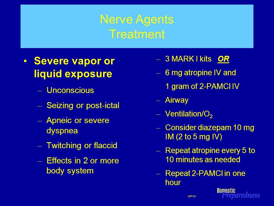 Nerve Agents Treatment