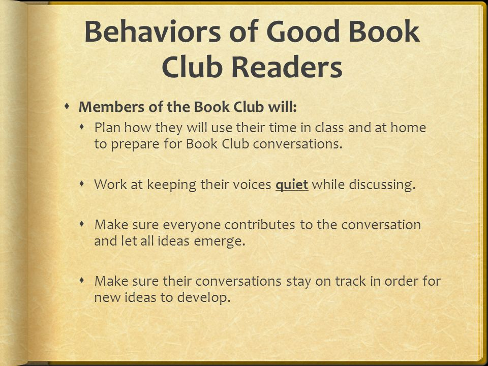 how to plan a book club