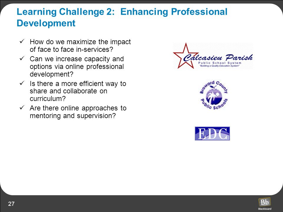 Learning Challenge 2: Enhancing Professional Development