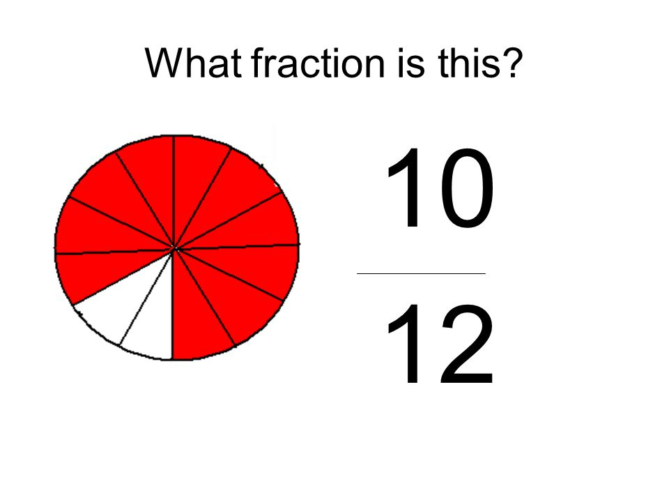 What fraction is this 10 12