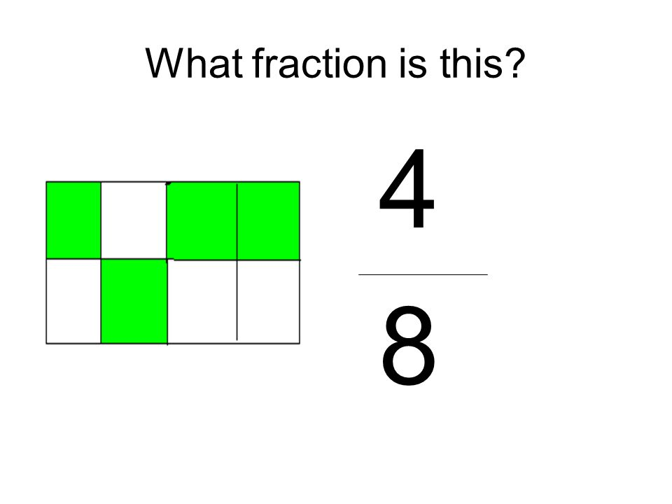 What fraction is this 4 8