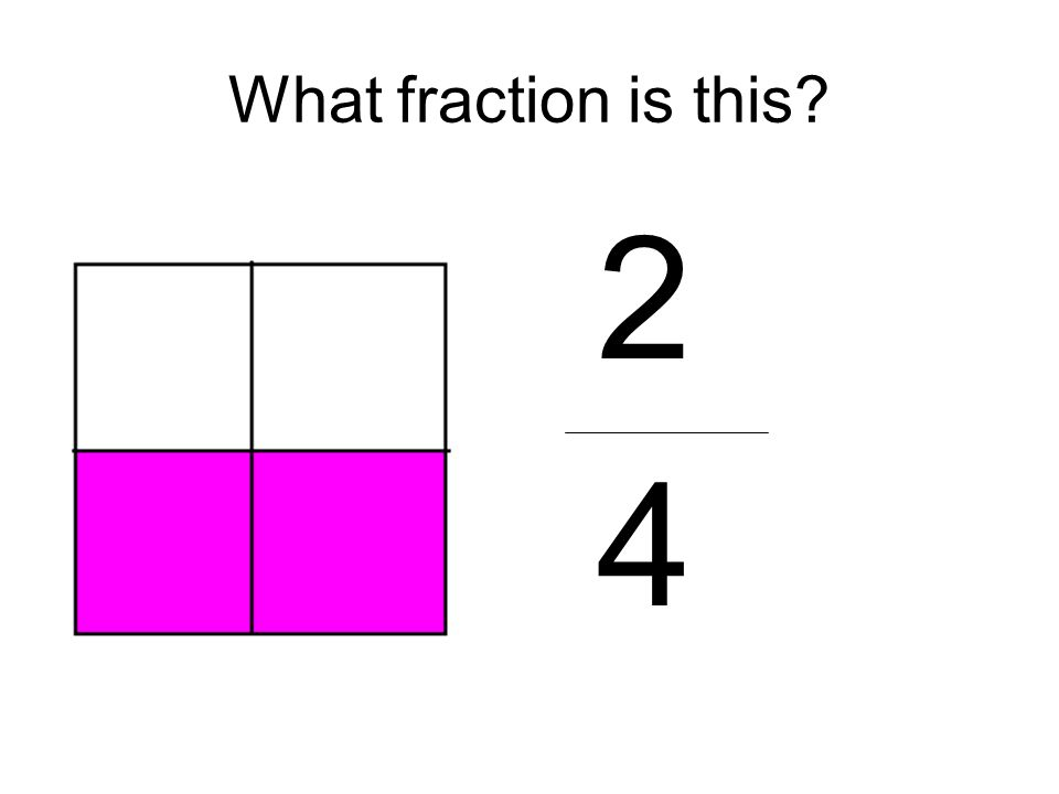 What fraction is this 2 4