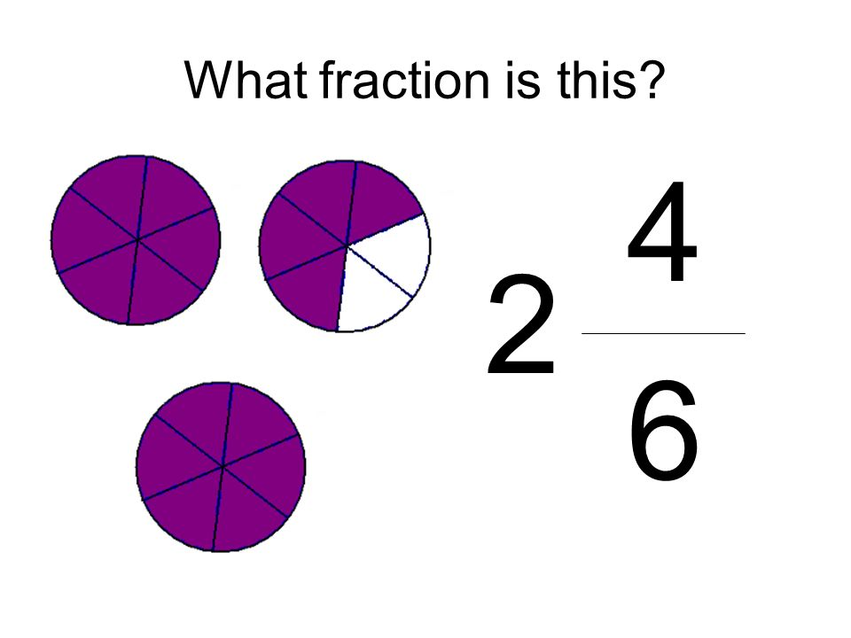 What fraction is this 4 6 2