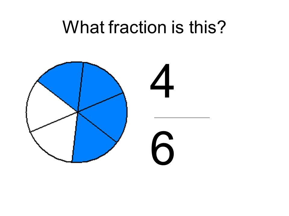 What fraction is this 4 6