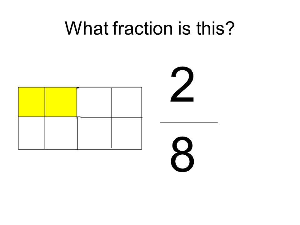 What fraction is this 2 8