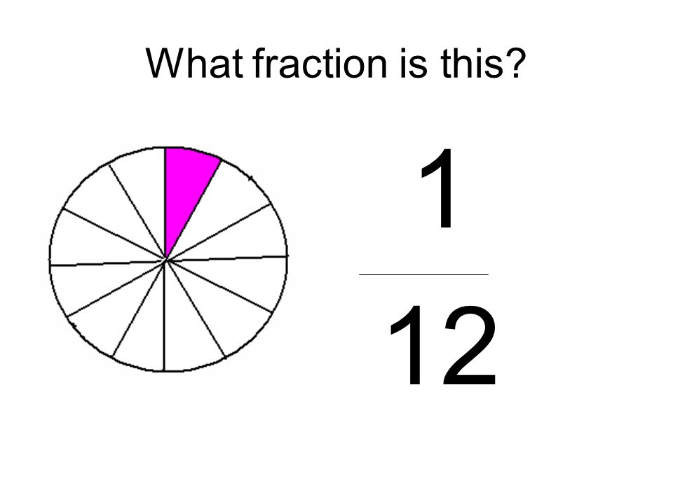 What fraction is this 1 12