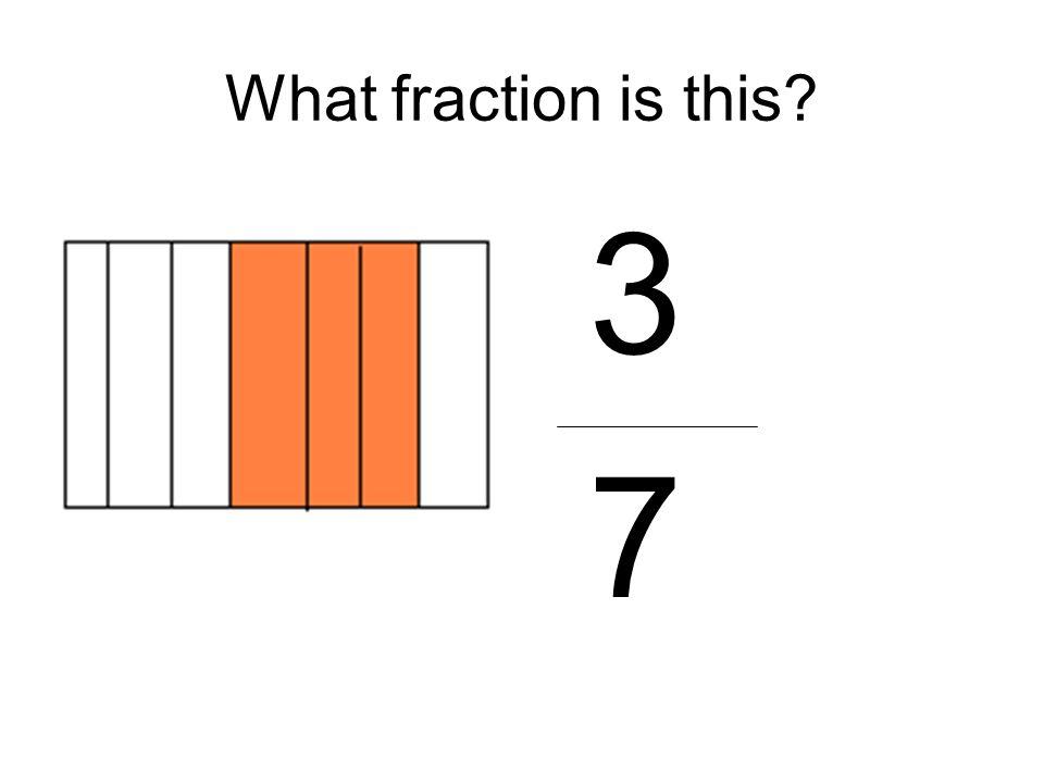 What fraction is this 3 7