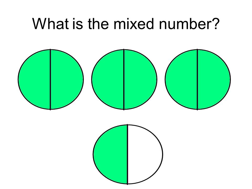 What is the mixed number