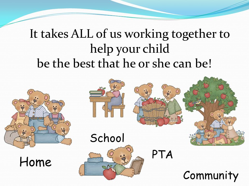 It takes ALL of us working together to help your child
