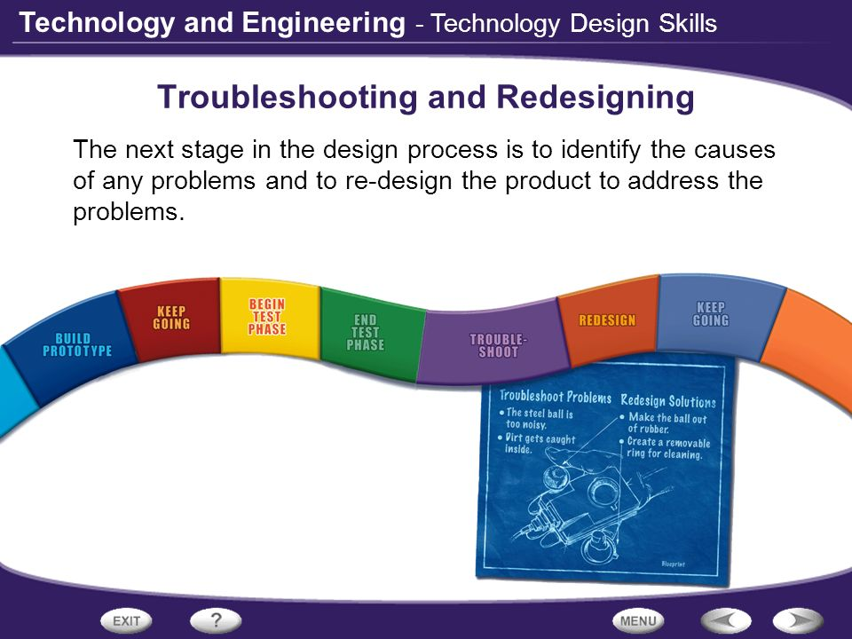 Troubleshooting and Redesigning