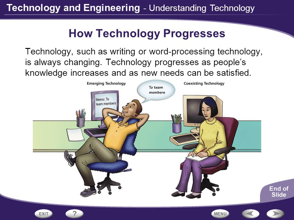 How Technology Progresses