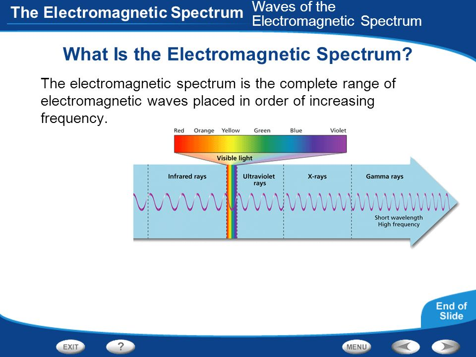 What Is the Electromagnetic Spectrum