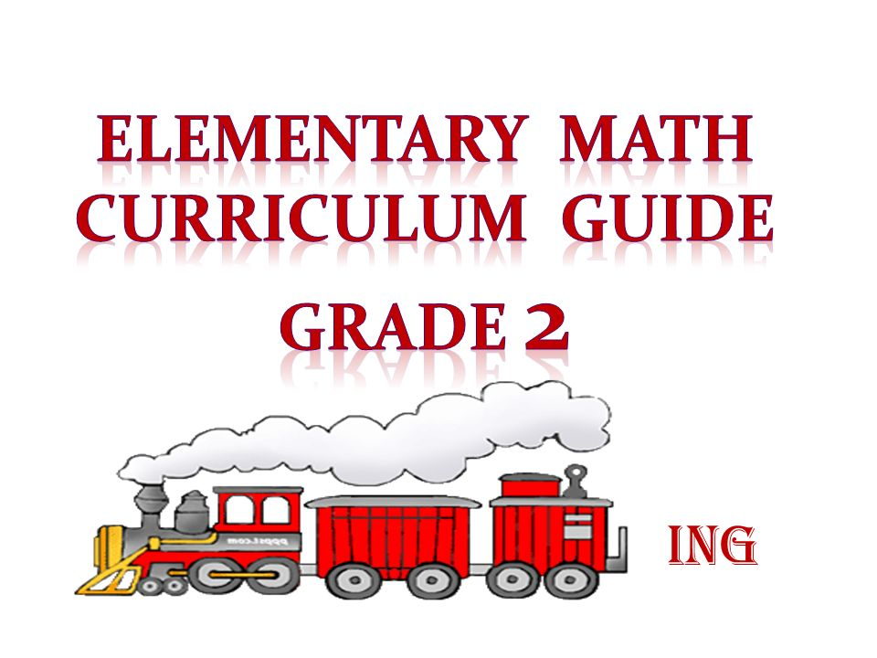 Elementary math Curriculum Guide Grade 2