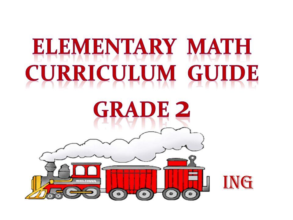 Elementary math Curriculum Guide Grade 2