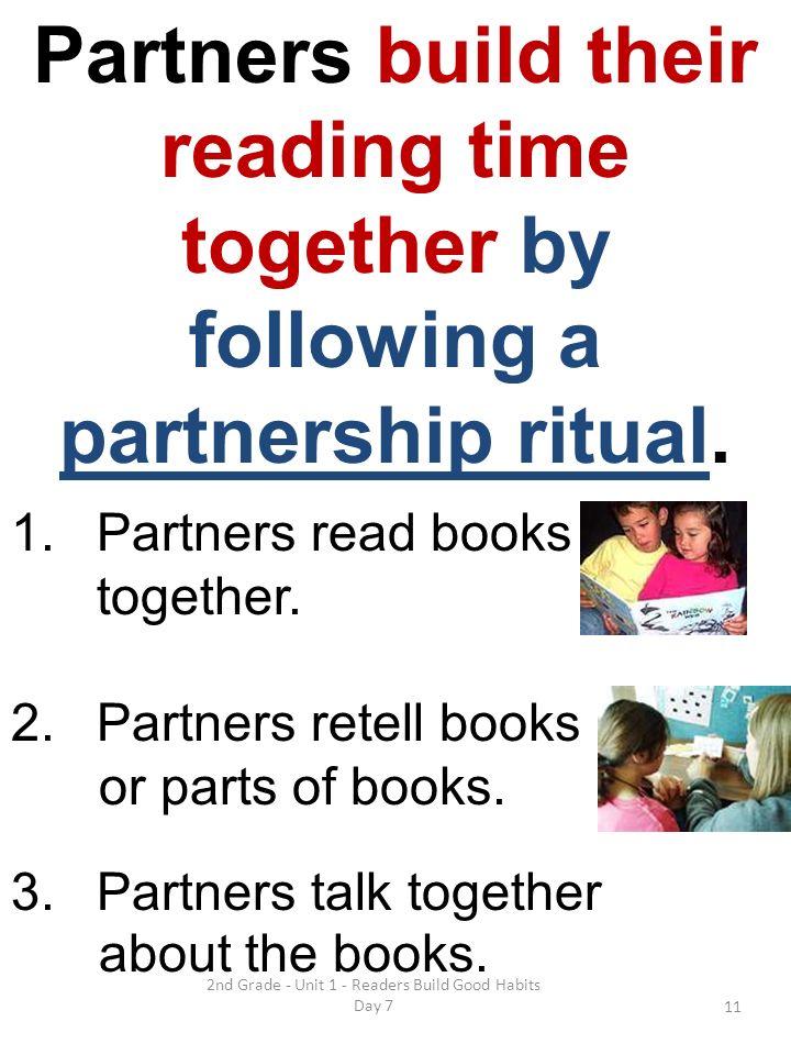 2nd Grade - Unit 1 - Readers Build Good Habits