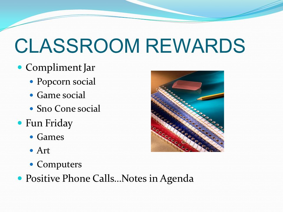 CLASSROOM REWARDS Compliment Jar Fun Friday