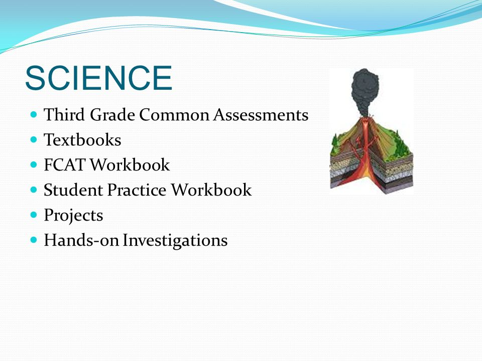 SCIENCE Third Grade Common Assessments Textbooks FCAT Workbook