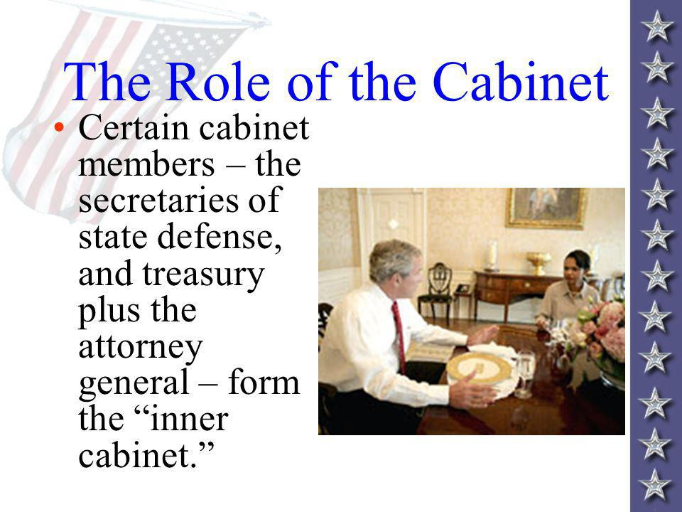 Cabinet Positions And Duties - thesecretconsul.com