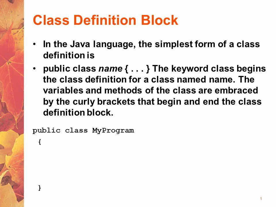 The Java Programming Language - ppt video online download