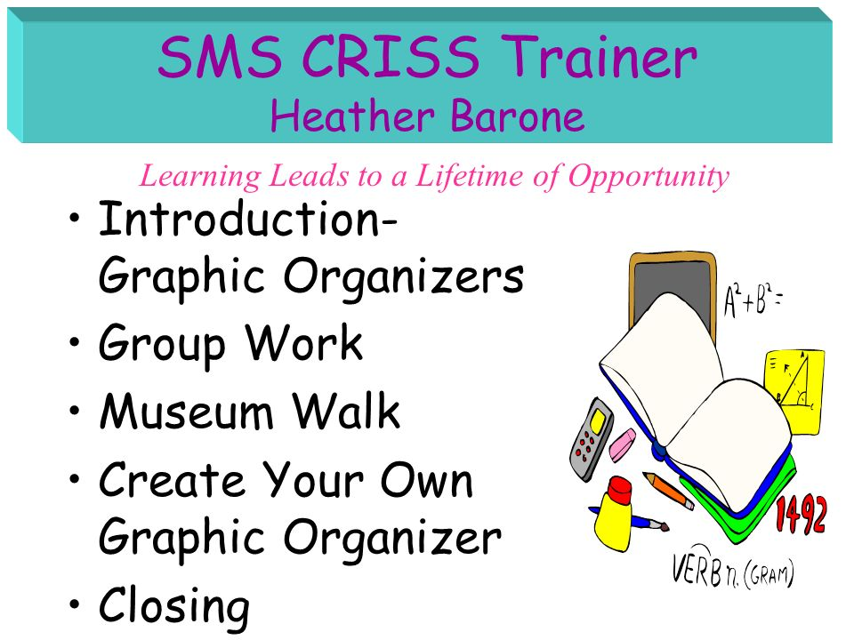 SMS CRISS Trainer Heather Barone
